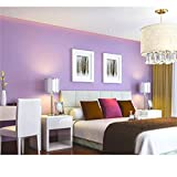 Peel and Stick Light Purple Wallpaper Contact Paper 24' by 393' (Purple)
