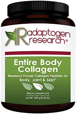 Entire Body Collagen Unique Blend of Pure Collagen Peptides for Body Joint Skin 390 Grams 0 product image