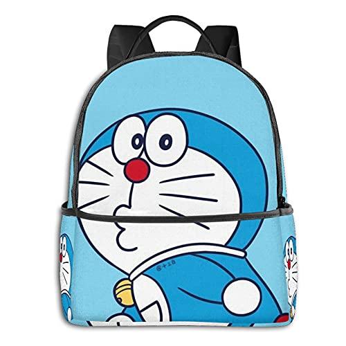 Doraemon Japonés Kawaii lindo bolso de hombro bolsos para las mujeres tela tela regalo bolsos niña niño, Doraemon japonés Kawaii Cute8, Talla única