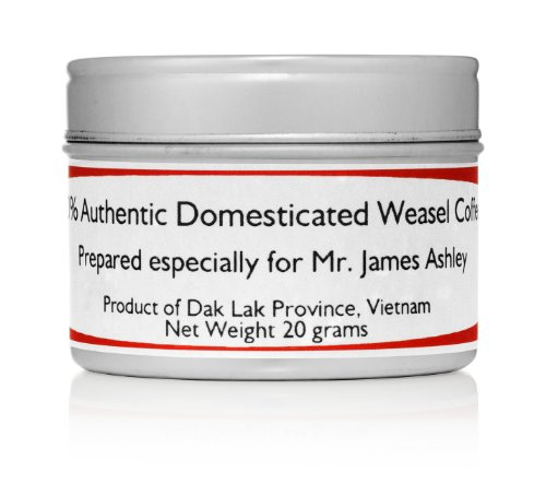 100% authentiek geDomesticeerd Vietnamese Wezel Koffie Sample Pack