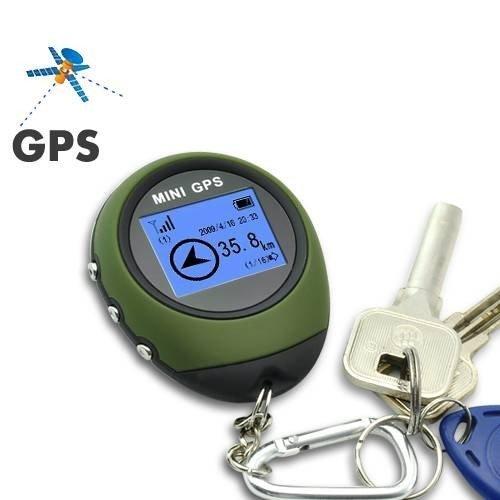 Express Panda® Location Finder Mini GPS Positionsfinder GPS-Empfänger GPS Navigation Tracker mit Datensammlung und Rechenfunktion Für Outdoor-Sport