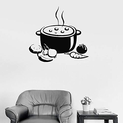 Tianpengyuanshuai muurstickers, keuken, soep, restaurant, interieurdecoratie, vinyl