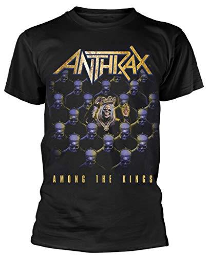 Anthrax 'Among The Kings' (Black) T-Shirt (small)