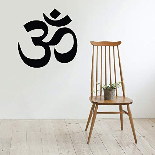 Vinilo decorativo para pared, diseño de Buda Absolute Brahman Hindú Yoga Hindú, 42 pulgadas de ancho