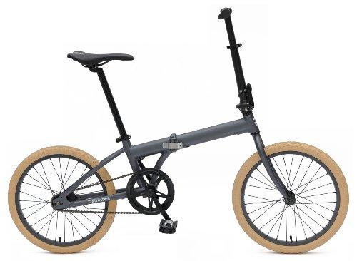 Retrospect Speck Bicicleta Plegable de una velocidad, Color Grafito, tamaño único