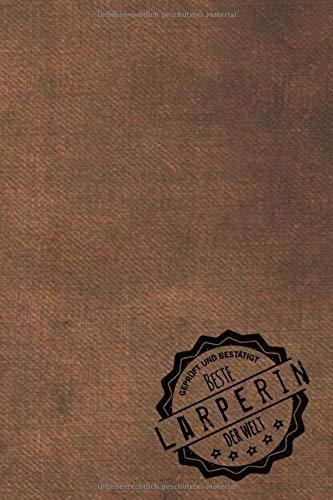 Geprüft und Bestätigt beste Larperin der Welt: Notizbuch für die Frau, deren Hobby Larpen ist |  Geschenkidee | Geschenke | Geschenk