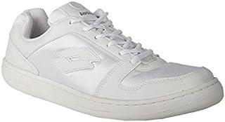 Lotto Men's Ace White Running Shoes - 9 UK/India (43 EU) (S6R4599-111)