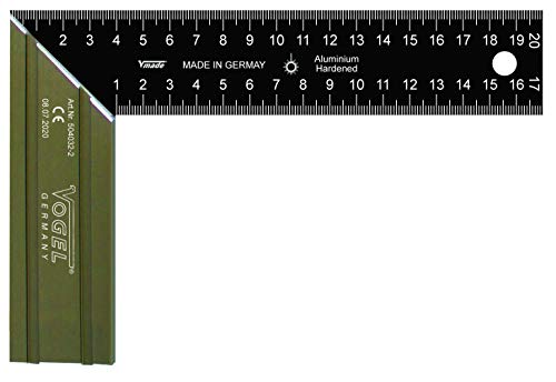 Vogel Germany Winkel (gehärtete Aluklinge HRB 70, für Schreiner- und Schlosserarbeiten, mit 45° Gehrungsschnitt) 504032-2