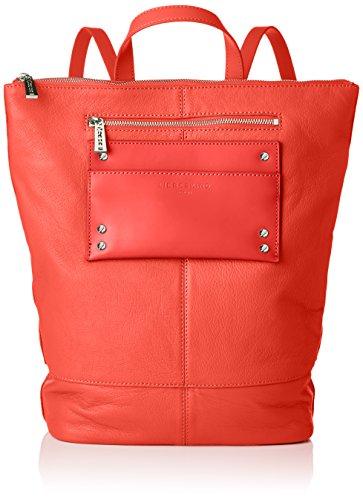 Liebeskind Berlin Damen BackpackM-Leisur Rucksackhandtasche, Liebeskind red, 11x48x36 cm