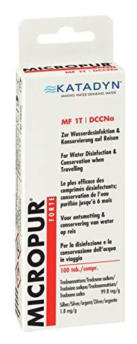 Katadyn Micropur Forte MF 1t tabletas de purificación de Agua.