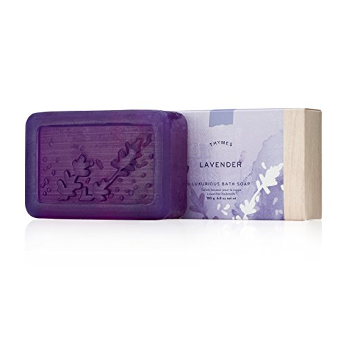 Thymes Bath Soap - 6.8 Oz - Lavender