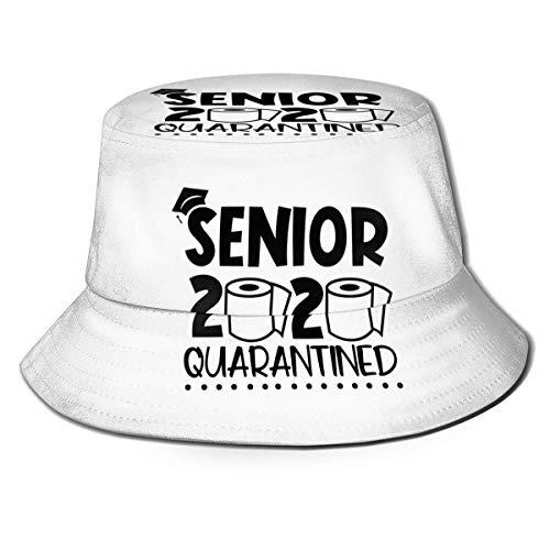 XCNGG Mayores 2020 en cuarentena Mujeres Hombres Unisex Sombrero de Sol Sombrero de Color sólido Sombrero de Pescador Sombrero de Cubo de Sol Moda Sombrero de Playa Salvaje Gorra Negro