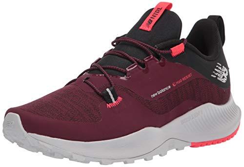 New Balance Men's Dynasoft Nitrel V4 Utility Trail Running Shoe, Burgundy/Black, 15