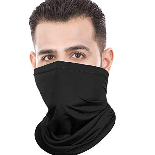 euskDE Multifunktionstuch Schlauchschal Sonnenschutz Super Elastisch Halstuch Maske für Motorrad Laufen Wandern