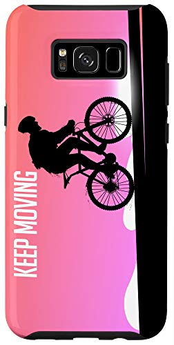 Galaxy S8+ Bike Cycling Cool Gift Keep Moving Case