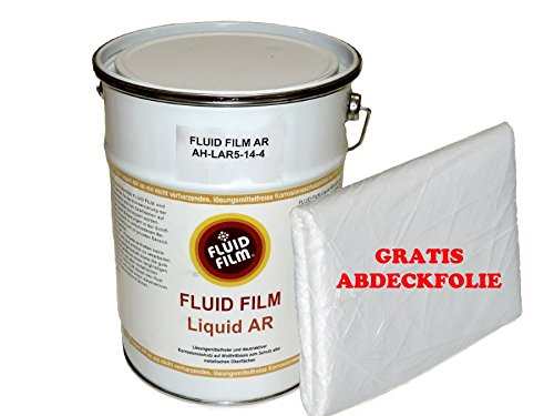 FLUID FILM Liquid AR Korrosionsschutz 5 Liter Kanister + gratis Abdeckplane