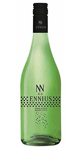 Vino Frizzante Ennius, elaborado con uva moscato, varios sabores. (PACK 3 unidades de 750ml). Envió GRATIS 24h. (verde)