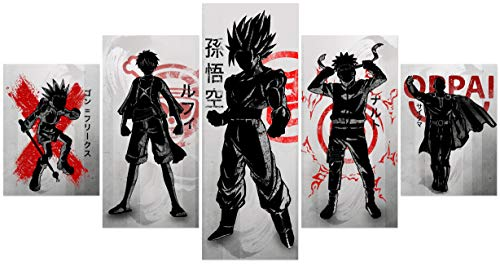 Naruto Anime Poster Wall Art Creative Wall Painting Unframed for Home Canvas Art Decor