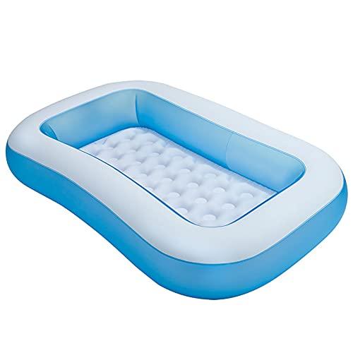 FDYZS Piscina para bebés, Piscina de Remo Inflable y Fondo de Burbuja Extra Suave para niños, Salpicaduras Play Pool para niños pequeños de Interior/Exterior