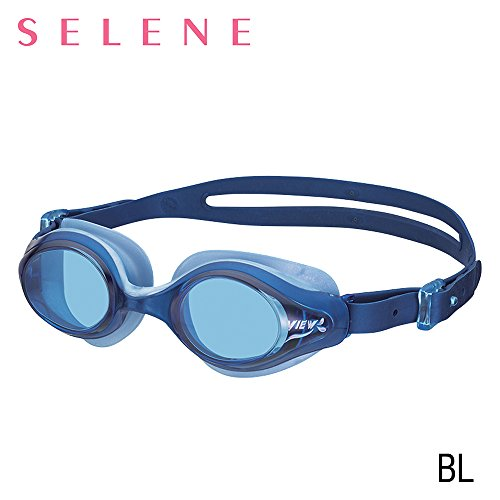 VIEW Swimming Gear V-820 Selene Swim Goggles, Blue