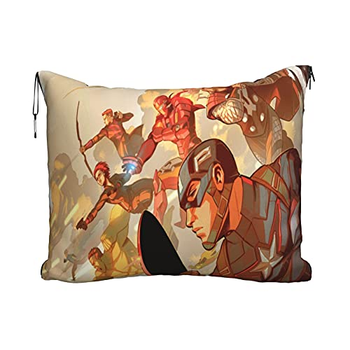 JayChou Cap_Tain Poster Ame_Rica Travel Blanket Pillow - Premium Soft 2 In...