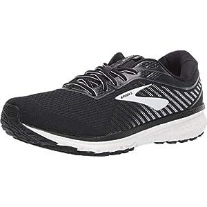 Brooks Ghost 12 Running Shoe Black/Ebony/White 10.5 D (M)
