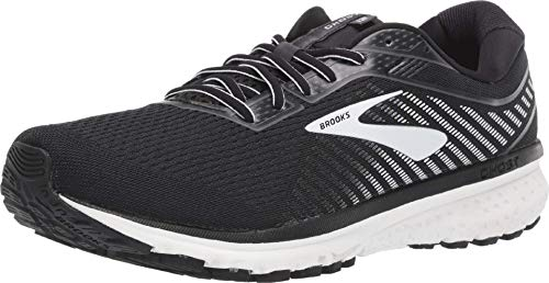 Brooks Herren Ghost 12 Laufschuh, Black/Ebony/White, 44.5 EU
