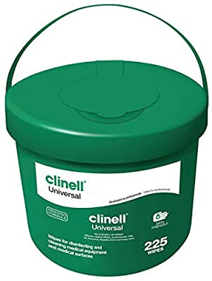 Clinell Universal Wipes by Gama Healthcare