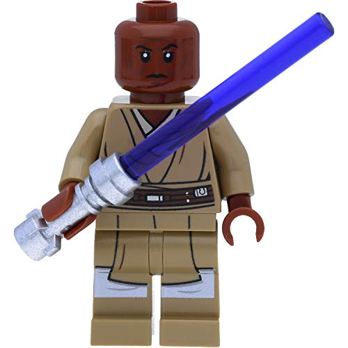 LEGO Star Wars Minifigur: Mace Windu (The Clone Wars) mit Laserschwert