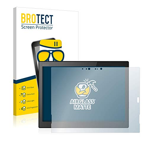 BROTECT Entspiegelungs-Panzerglasfolie kompatibel mit Lenovo ThinkPad X1 Tablet (3.Gen) - Anti-Reflex Panzerglas Schutz-Folie Matt
