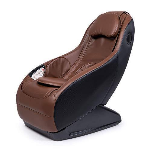 Guru® Sillón de Masaje y Relax - Marrón (Modelo 2021) - 3 Modos Masaje - Sonido Envolvente shiatsu 2D - Sillon masajeador con Sistema Bluetooth y USB - Garantía Oficial 2 Años