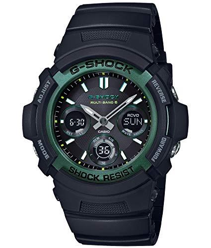 [カシオ] 腕時計 ジーショック 世界6局対応電波ソーラー AWG-M100SF-1A3JR メンズ ブラック