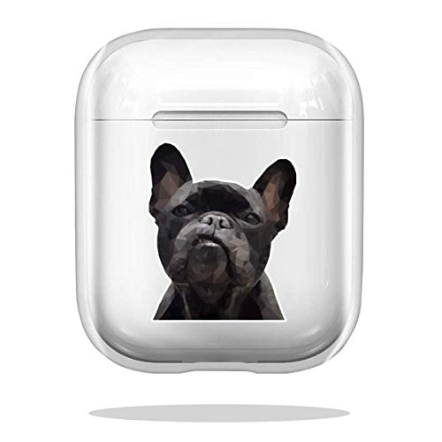 Case Cover Frenchie - Yellow Compatible with Airpod Pro Airpods Funny Skin Bumper Accessories