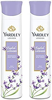 Yardley English Lavender Deo Spray (150ml) (pack of 2) SF Yardley 39 SF Wide Stone 30