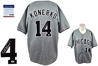 Paul Konerko Autographed Signed Jersey - Beckett Authentic
