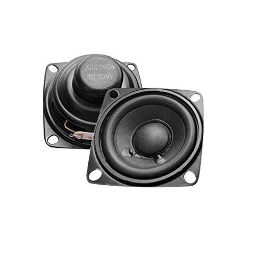 """WNJ-TOOL, 2 stücke 2 Zoll Audio tragbare Lautsprecher volle Reichweite 4 Ohm 10w Treble Midrange Subwoofer Lautsprecher für Heimkino DIY (Größe : 2\"""")"""
