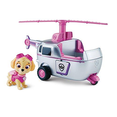 Skye y su helicóptero
