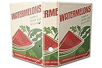 バインダー 2 Ring Binder Lever Arch Folder A4 printed Water melons