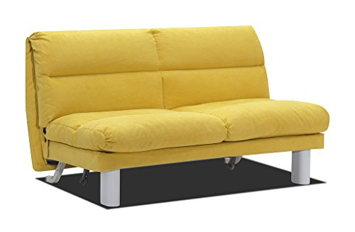 Verholt Schlafsofa Holly In 30 66 Stoff In Gelb 150 X 88 X 100