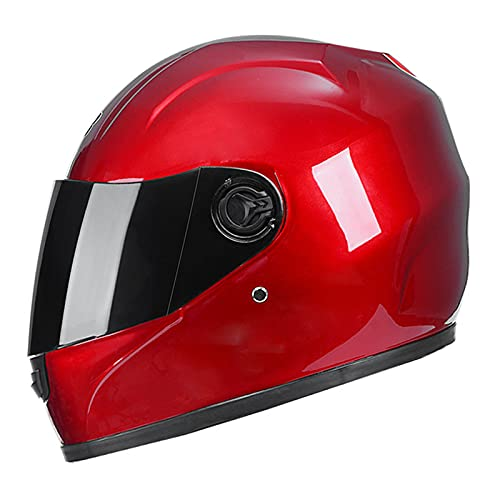 YXST Casco Moto,Scooter Casco De ProteccióN Casco De Esquí Certificado CE,Integral Casco De Seguridad para Deportes Extremos Accesorios Esenciales para Deportes Al Aire Libre56-60cm,3