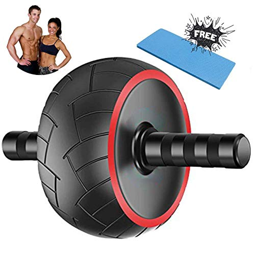 Ab Roller for Home Gym, Abdominal Exercise Roller Wheel for Abs Workout, Ab...