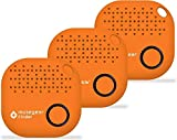 musegear Schlüsselfinder mit Bluetooth App aus Deutschland I Maximaler Datenschutz I orange 3er Pack I Schlüssel Finden