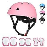 Kids Helmet - Adjustable Toddler Bike Helmet for Boys Girls...