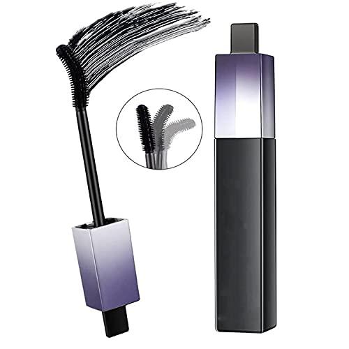 Rotating Brush Head Waterproof Mascara, 4d Silk Fiber Lash Mascara Waterproof, Automatic Rotation Curling And Bending Mascara (1PC)