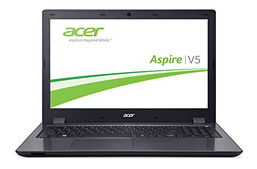 Acer Aspire V 15 (V5-591G-75GP) 39,62 cm (15,6 Zoll Full HD) Laptop (Intel Core i7-6700HQ, 8GB DDR4-RAM, 256GB SSD, Nvidia GeForce GTX 950M, Win 10 Home) schwarz