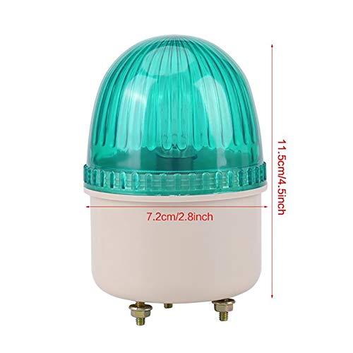 JINGBO AC 110/220V Boot Lichter Navigation 15W LED Strobe Warn Licht Flash Boot Lampe Industrielle Maschine Beleuchtung Rot/Grün/Blau/Gelb,Grün