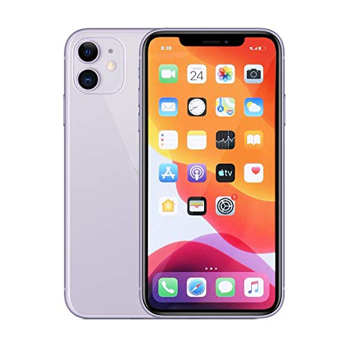 Fake Phone is A Replica That Looks and Feels Like The Real Phone Compatible with Phone 11, Dummy Phone No Logo and Non-Working (Purple)