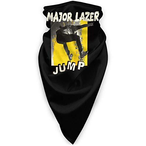 shenguang Major Lazer Masque de Sport Coupe-Vent Masque de personnalité Multifonction Bandana Chapeaux Tube Masque Cagoule extérieure Noir