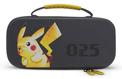 Custodia da Trasporto Pokémon PowerA per Nintendo Switch O Nintendo Switch Lite - Pikachu 025, Custodia Protettiva, Custodia da Gioco, Custodia Per Consolle - Nintendo Switch