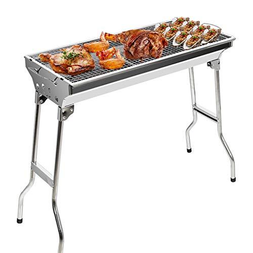 XLNB BBQ Holzkohlegrill Falten Tragbare Outdoor-küche Camping Picknick Picknick Wandern Picknick Große Größe Geeignet Für 5-10 Personen